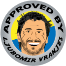professional handboll player ljubomir vranjes has approved animated comedy blog lunki and sika