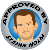 high jumper and quiz show expert Stefan Holm has approved the Lunki and Sika blog