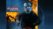 the animated comedy show lunki and sika - sika as matt damon in a bourne identity spoof