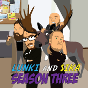 the animated comedy show lunki and sika - season three
