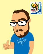 In the animated comedy series Lunki and Sika - Sika is wearing a Argentina coach Maradona T-shirt from the World Cup in South Africa 2010