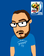 The animated comedy web series - sika in a maradona t-shirt during the world cup in south africa 2010