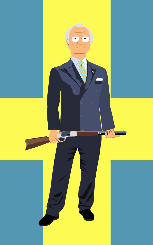 The Swedish King Carl Gustaf - Den Svenske Kungen - Den motvillige monarken