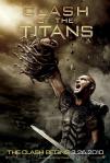 clash of the titans movie poster 2010