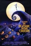 Tim Burton's the nightmare-before-christmas movie poster