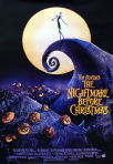 Tim Burton's the nightmare-before-christmas movie poster