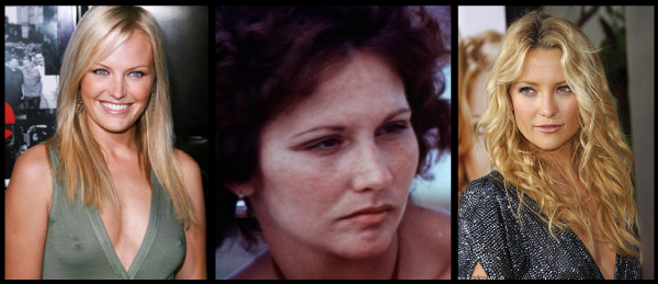 Malin Akerman and Kate Hudson are both up for roles playing porn star Linda Lovelace