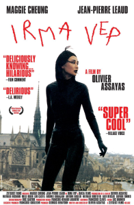 Irma Vep poster starring Maggie Cheung in latex