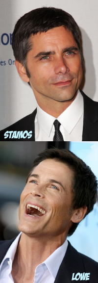 john_stamos-rob_lowe-2011-rumored for two and a half men as replacement for charlie sheen