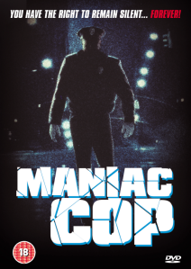 The Maniac Cop dvd cover front 1988