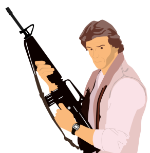 animated cartoon marc-singer from the original V series