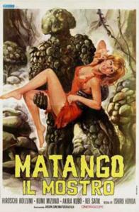Ishiro Honda Matango 1963 cover