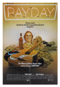 Rip Torn movie Payday cover from 1973