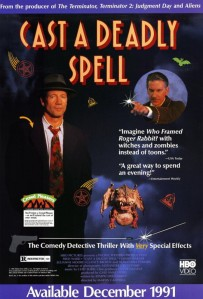 Fred Ward stars as HP Lovecraft in this 1991 movie Cast a deadly spell