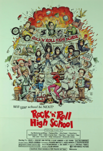 the ramones cover rock'n'roll high school