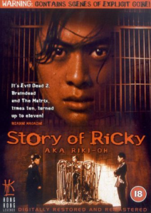 riki-oh, story of ricky-cover-original title Lik Wong
