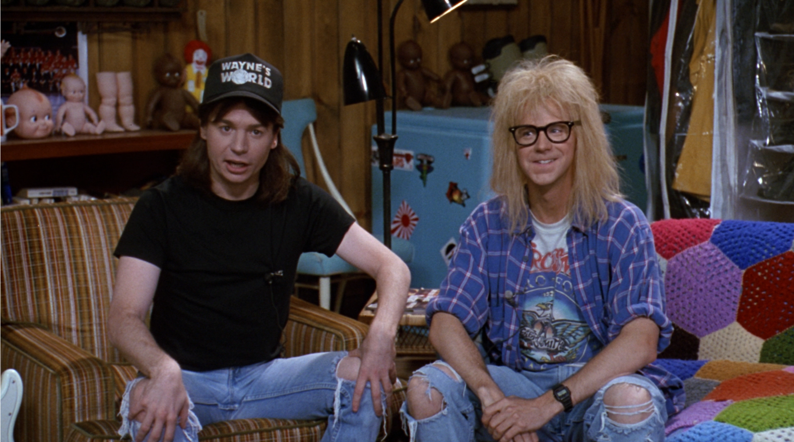 Image result for Wayne's World 1992