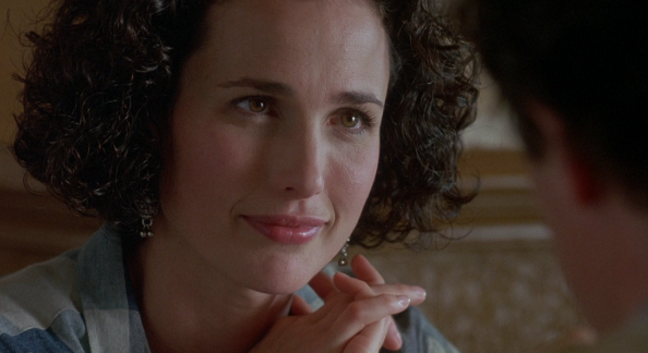 Andie Macdowell couple