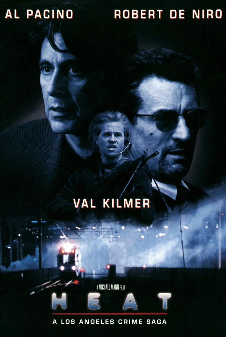 Sika's 100 Greatest Movies of All Time! 47. Heat (1995 ...