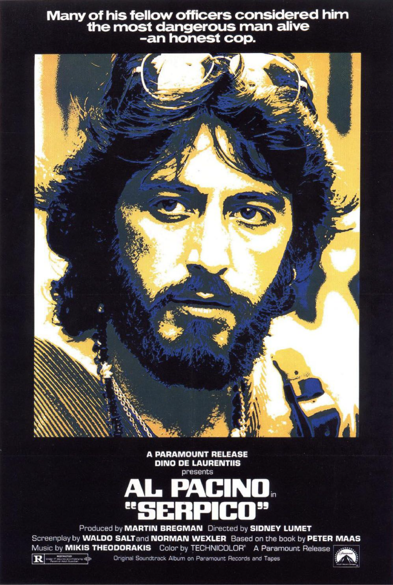 Sika's 100 Greatest Movies of All Time! 59. Serpico (1973 ...