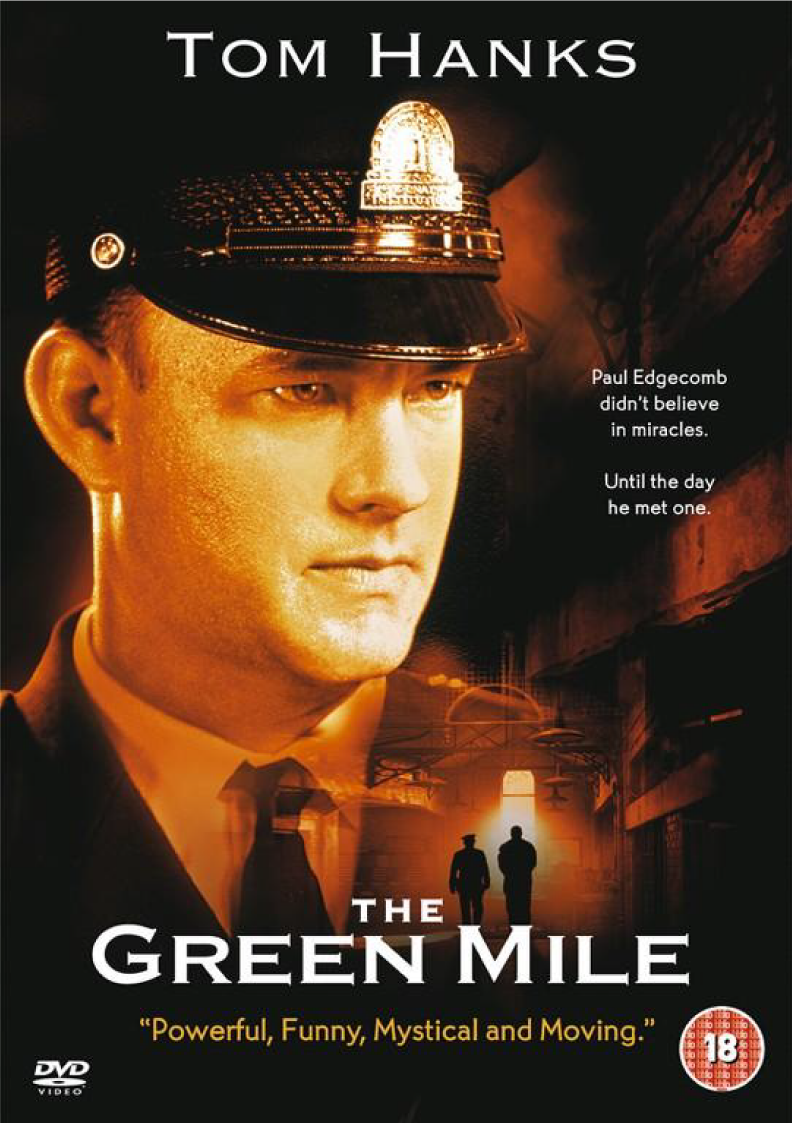 the green mile movie essay The green mile movie was fundamentally made to show the harm that human beings inflicted on other members of their species, some degree of.
