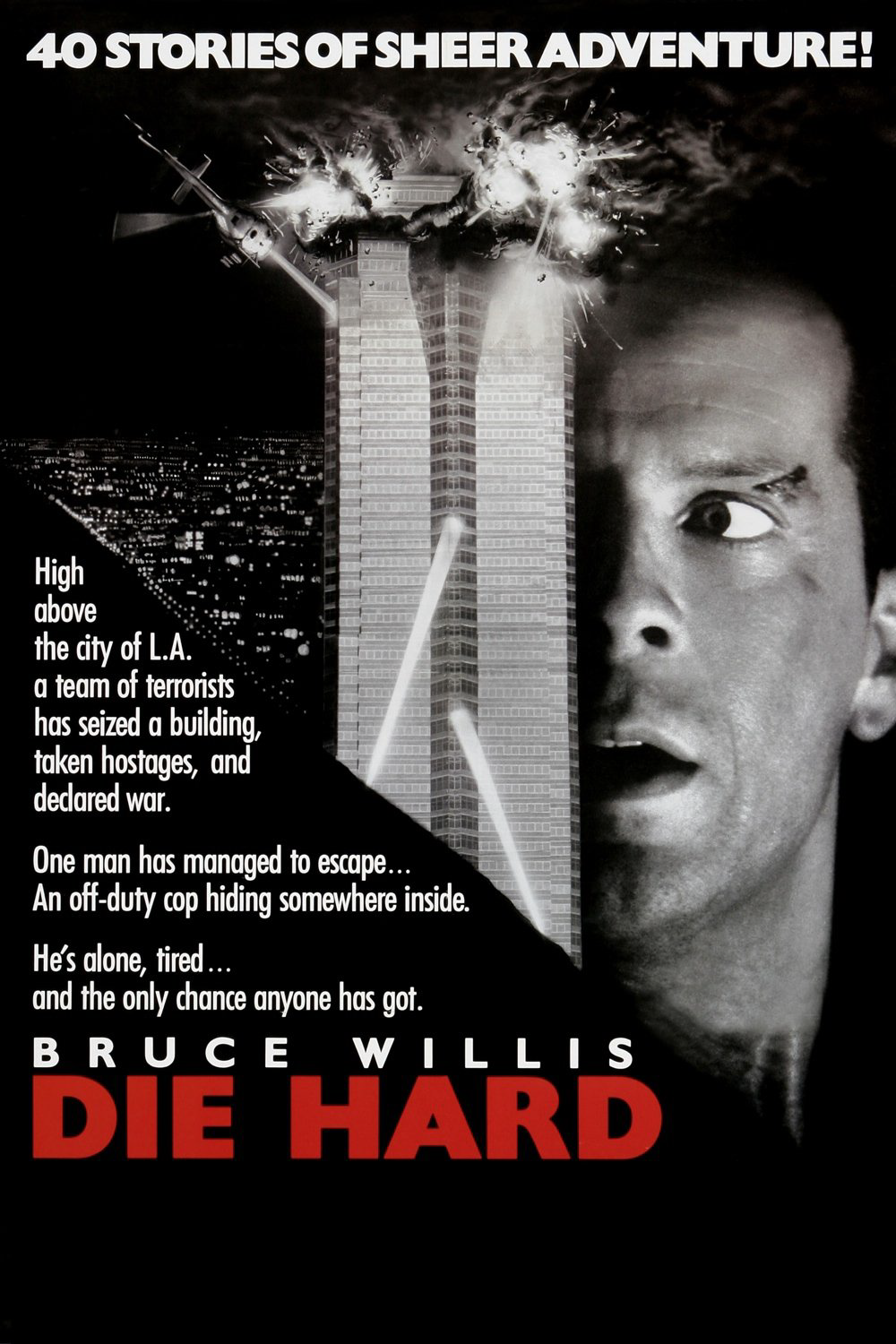 Sika's 100 Greatest Movies of All Time! 14. Die Hard (1988 ... Bruce Willis Tower