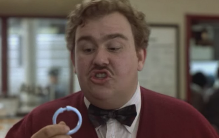 ... -1987-john-candy-del-griffith-shower-curtain-salesman-movie-still