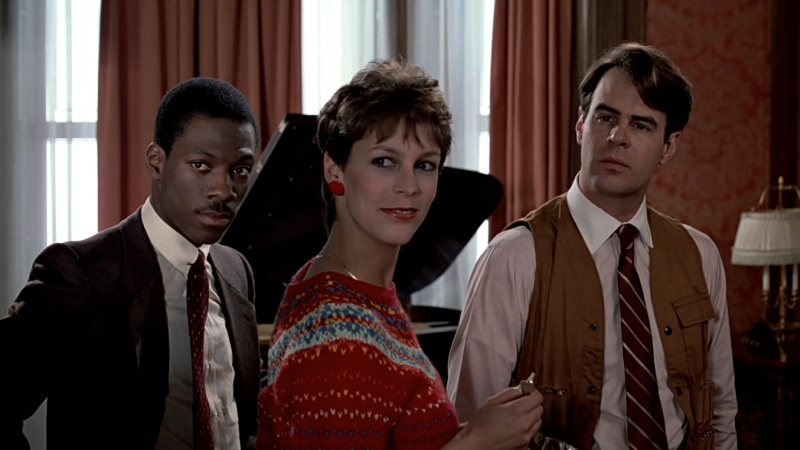 Jamie Lee Curtis Trading Places Photo Collage