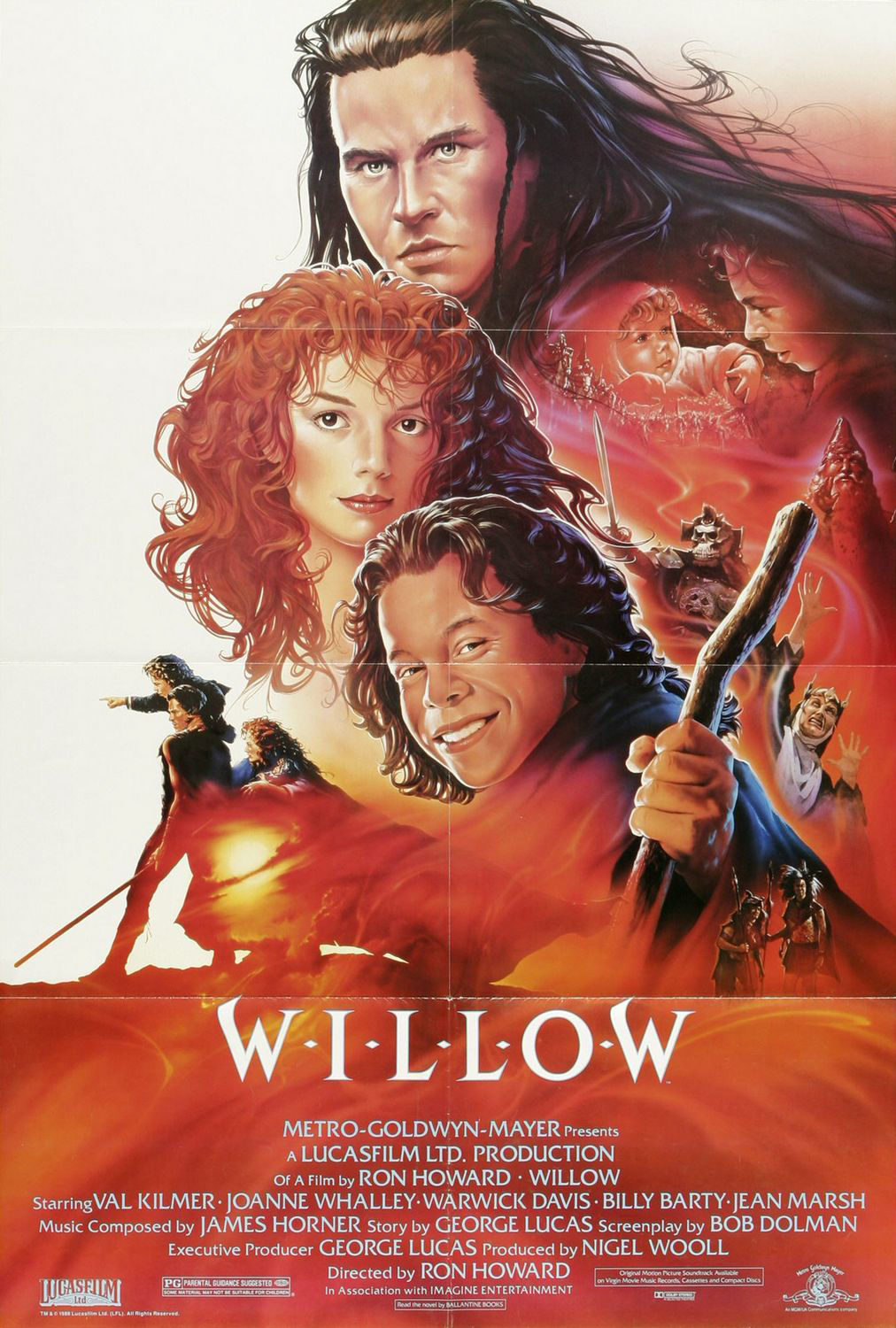 Sika s 100 greatest movies of all time 44 willow 1988 for Top songs of 1988