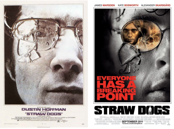 Movie Posters 2011: We Have Beards So We Know Movies: Straw Dogs (2011