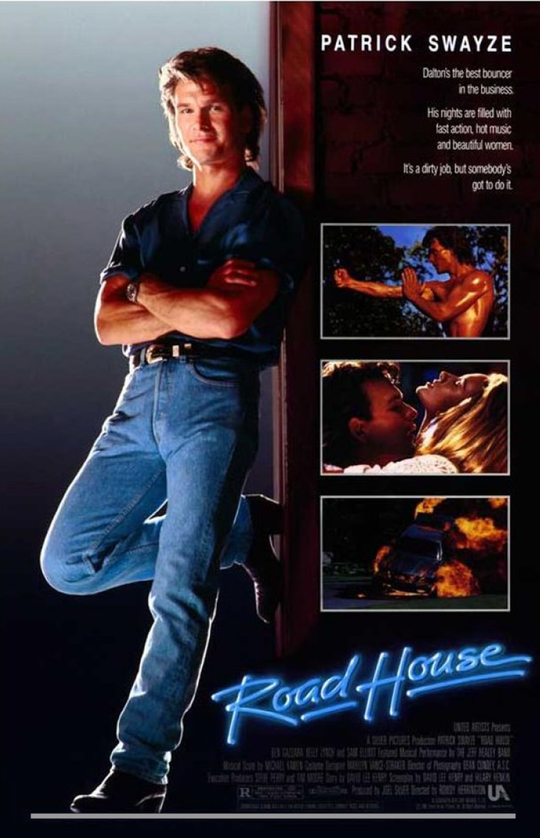 Swayze plays Dalton, a tough bouncer who is hired to tame a dirty bar ...